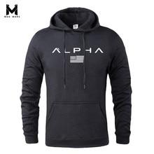MOK MORS M Осенняя спортивная одежда с принтом, мужская спортивная толстовка для бодибилдинга в стиле хип-хоп, мужские толстовки с капюшоном, пуловер с капюшоном, одежда