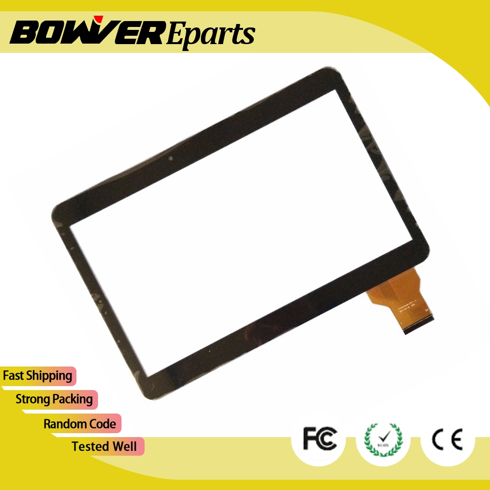 A+  Black /white IRBIS TZ11 TZ12 10.1inch tablet pc capacitive touch screen panel digitizer glass VTC5010A28-FPC-1.0 new 7 inch tablet pc mglctp 701271 authentic touch screen handwriting screen multi point capacitive screen external screen