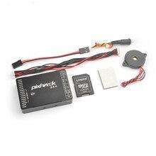 Pixhack controlador de vuelo de 32bits para Dron cuadricóptero, dispositivo de control de vuelo 2.8.4pro, código abierto basado en Pixhawk Auto Pilot con funda CNC