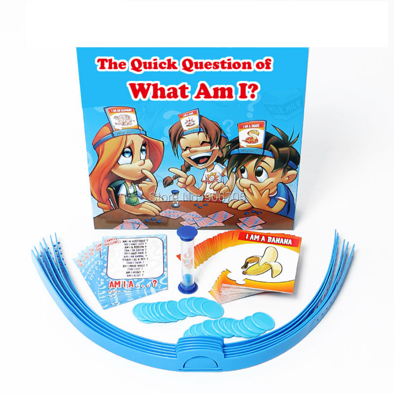 What Am I? The Quick Question Game That Everyone Knows But You! Home Parent-and-Child Family Games guess game Novelty toys