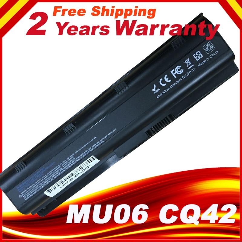 Laptop battery for HP 430 431 435 630 631 635 636 650 655 G4 G6 CQ32 CQ43 CQ56 CQ72 G32 G72 G62 G42 G56 G72 MU06 593553-001