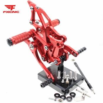 FOR YAMAHA YZF R3 MT03 14-19 R25 14-18 MT25 15-18 CNC Aluminum Alloy Motorcycle footrest footpeg pedal foot peg Rearset Rear Set