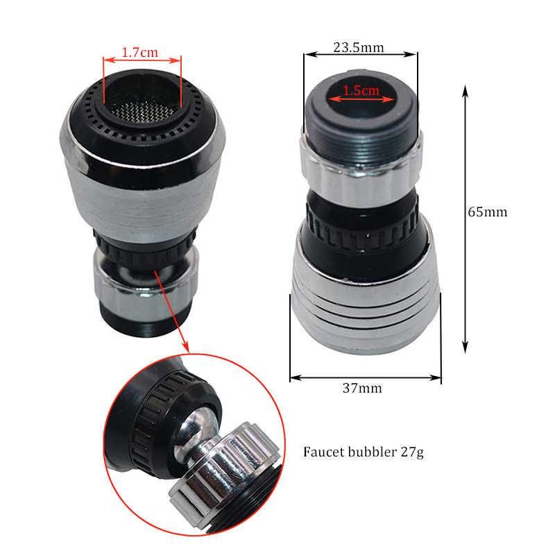 1 pièces 2 Modes 360 rotatif barboteur économie d'eau haute pression buse filtre robinet adaptateur robinet Extender accessoires de cuisine