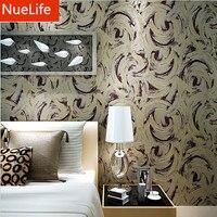 0.53x10m Modern abstract blending pattern nonwoven wallpaper living room dining room bedroom shop TV background wallpaper