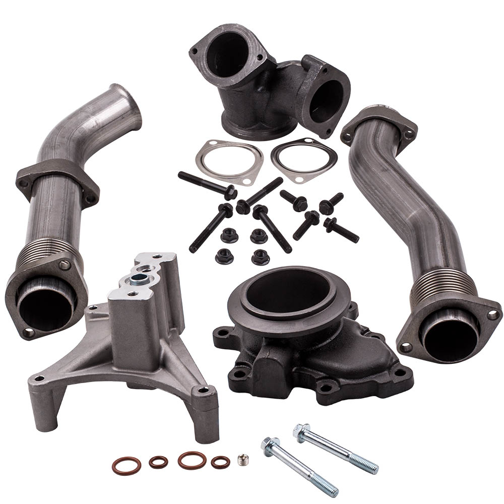 Up Pipes Turbo Pedestal Exhaust Housing 1999.5-2003 Ford Powerstroke 7.3 Diesel