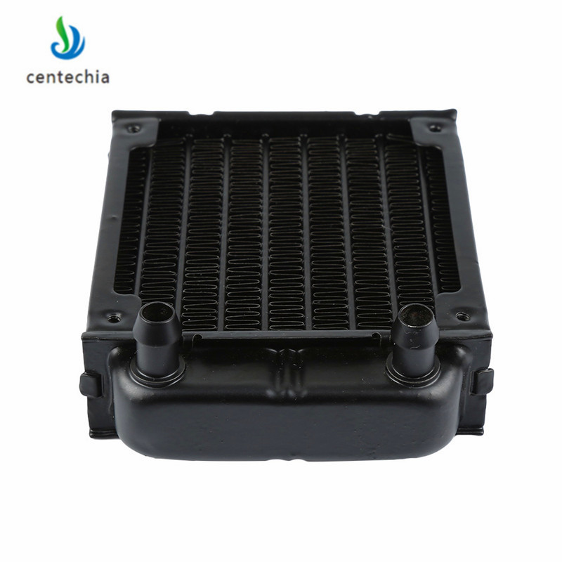 1Pc 80mm Aluminum Computer Radiator Water Cooling Cooler Fans for CPU Heatsink