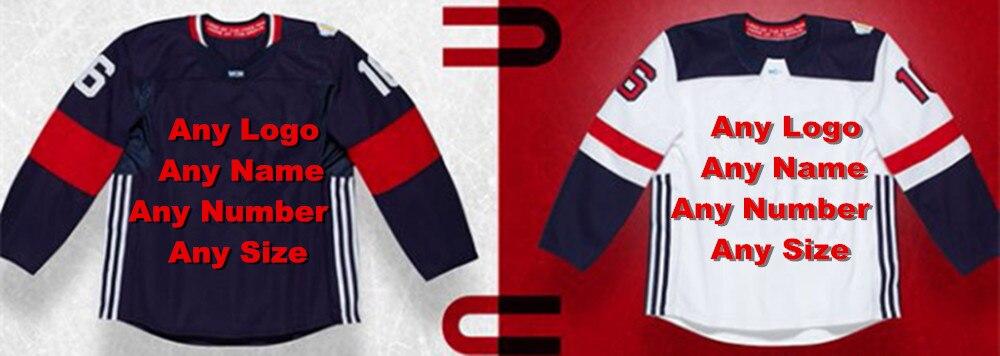 Custom Any Logo 2016 Team Uniform Factory OEM Hockey Jerseys Embroidery Mens Tackle Twill USA CANADA Australia кепка badboy logo team hat