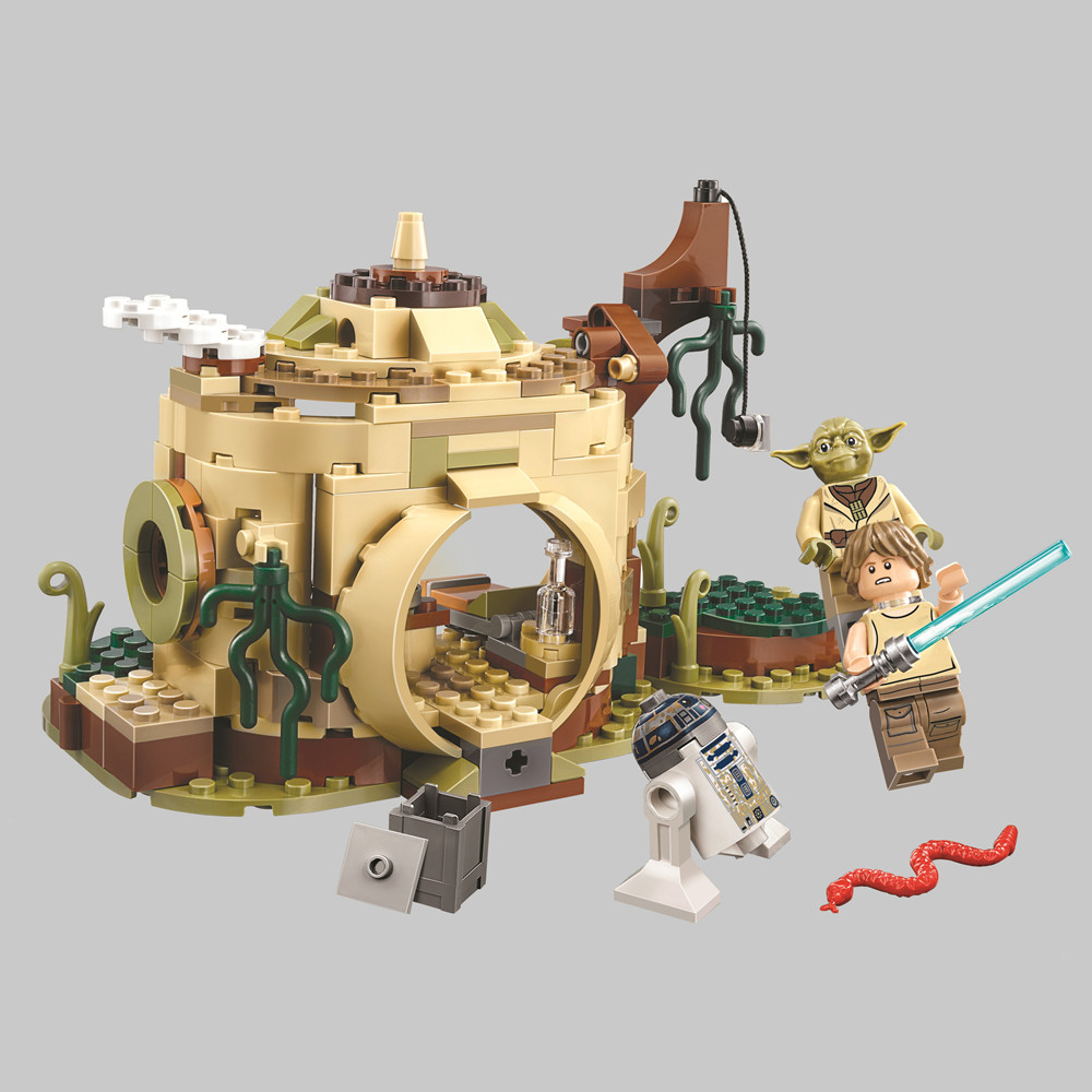 BELA Star Wars Yodas Hut Building Blocks Kit Bricks Sets Classic Movie Model Kids Toys Compatible LegoingsBELA Star Wars Yodas Hut Building Blocks Kit Bricks Sets Classic Movie Model Kids Toys Compatible Legoings