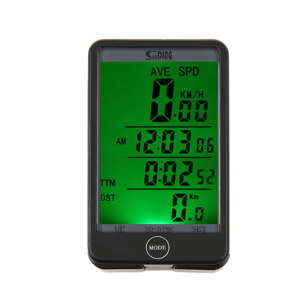 2017 New 29 Functions Water-resistant Sunding Wireless Cycling Bike Bicycle Computer Speedometer Odometer Stopwatch