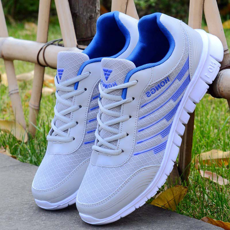 Men Shoes Adult Light Men Sneakers 4 Color Breathable Casual Shoes Male Zapatos Hombre Men Krasovki  Chaussure Homme Size 39-46