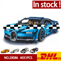 In Stock DHL Lepining 20086 20001 20001B 23006 20087 Technic Series Car Model Building Blocks Bricks Compatible 42083 Gifts Toys