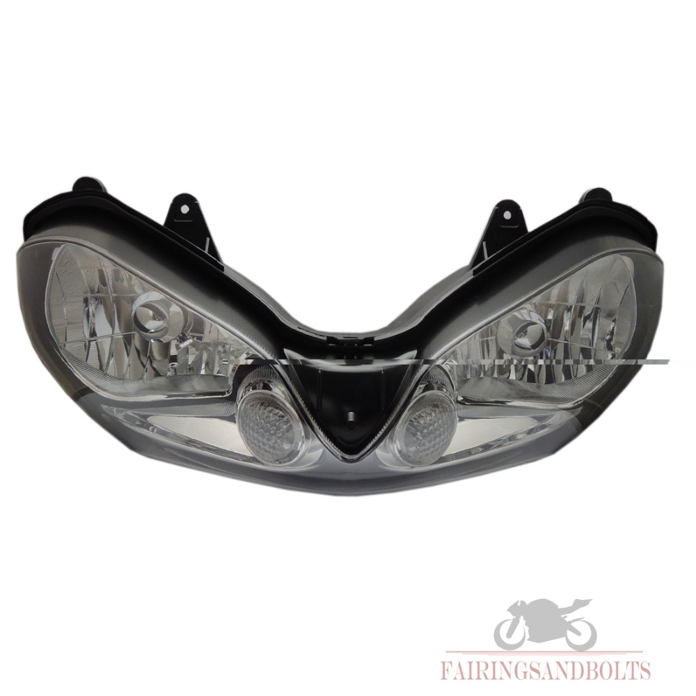 ZX-10R Motorcycle Front Headlight for KAWASAKI NINJA ZX10R 2004-2005 2004 2005 Clear New