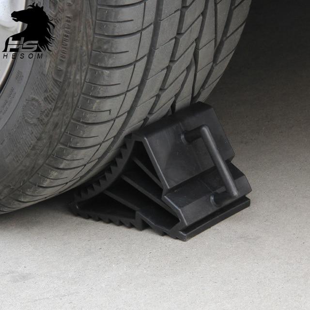 Car Tire retarder wheel slip Black Rubber stopper ramp anti-slip stop Car Stop Slip Control Roadway Safety products 2pcs/set