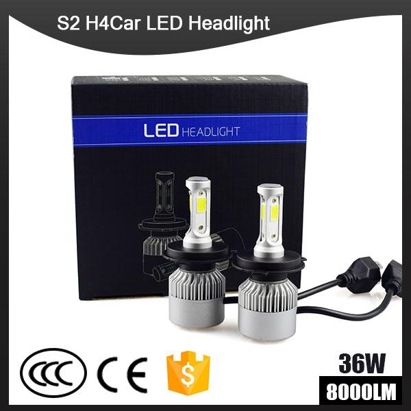 2Pcs H4 LED H7 H11 H1 9004 9005 9006 9007 HB1 HB2 HB3 HB4 HB5 H3 H13 880 Car Headlight Bulbs 72W 8000LM 6500K Auto lamp car led headlight bulbs all in one h7 h11 h1 hb3 hb4 9005 9006 55w 8000lm h4 h13 9007 hi lo waterproof high low beam lights