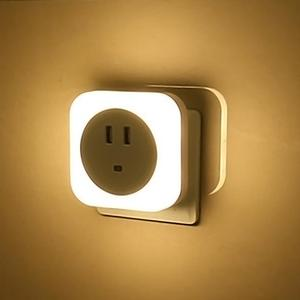Image 4 - 2 USB Charging Port Induction Home Night Lamp Gift Kids Bedroom Mini Smart Sensor Light Control LED Night Light Baby EU/US Plug