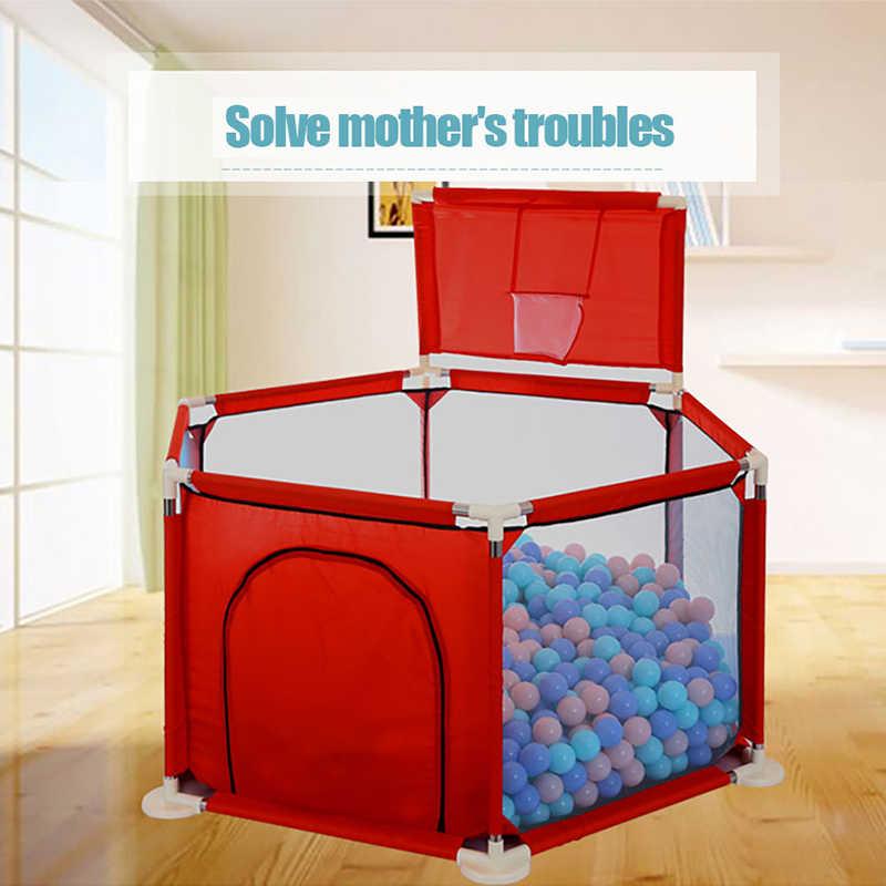 IMBABY маленьких ограждение для детского манежа складной защитный барьер для Возраст до 6 лет детей манеж Ткань Оксфорд Игровая палатка барьер для младенцев
