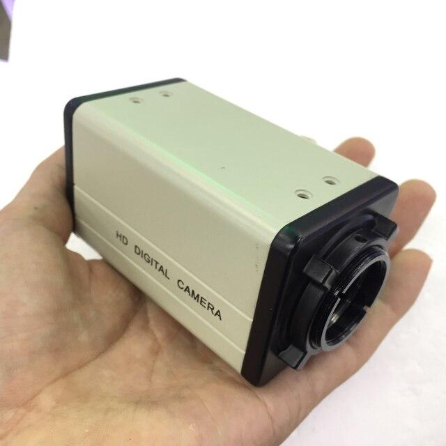 אלומיניום כיסוי חומר מגן אבטחת CCTV מצלמה מיני תיבת פגז דיור