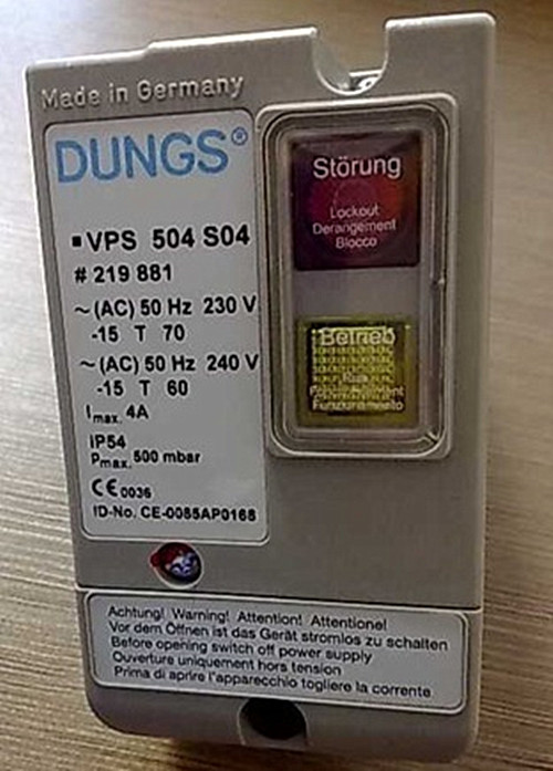 Valve proving systems vps 504 dungs.