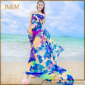 Women Summer Dress Ladies Chiffon Wrap Sarong Beach Swimwear Swimsuit Beach Bathing Cover Up Bikini Scarf Pareo