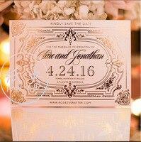 Cocostyles kişiselleştirilmiş davetiyeleri çin geleneksel tarzı düğün davetiyesi kartları ile vintage sıcak foiling tasarım