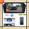 High Resolution 1024*600 Full 7'' TFT LCD Car Rear View Mirror Monitor Bluetooth/MP5 Usb/TF Slot Parking Assistance System