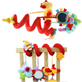 Cute Infant Baby PlayToys Activity Spiral Bed & Stroller Toy Set Hanging Bell Crib Rattle Toys Newborn Infant  Educational Dolls