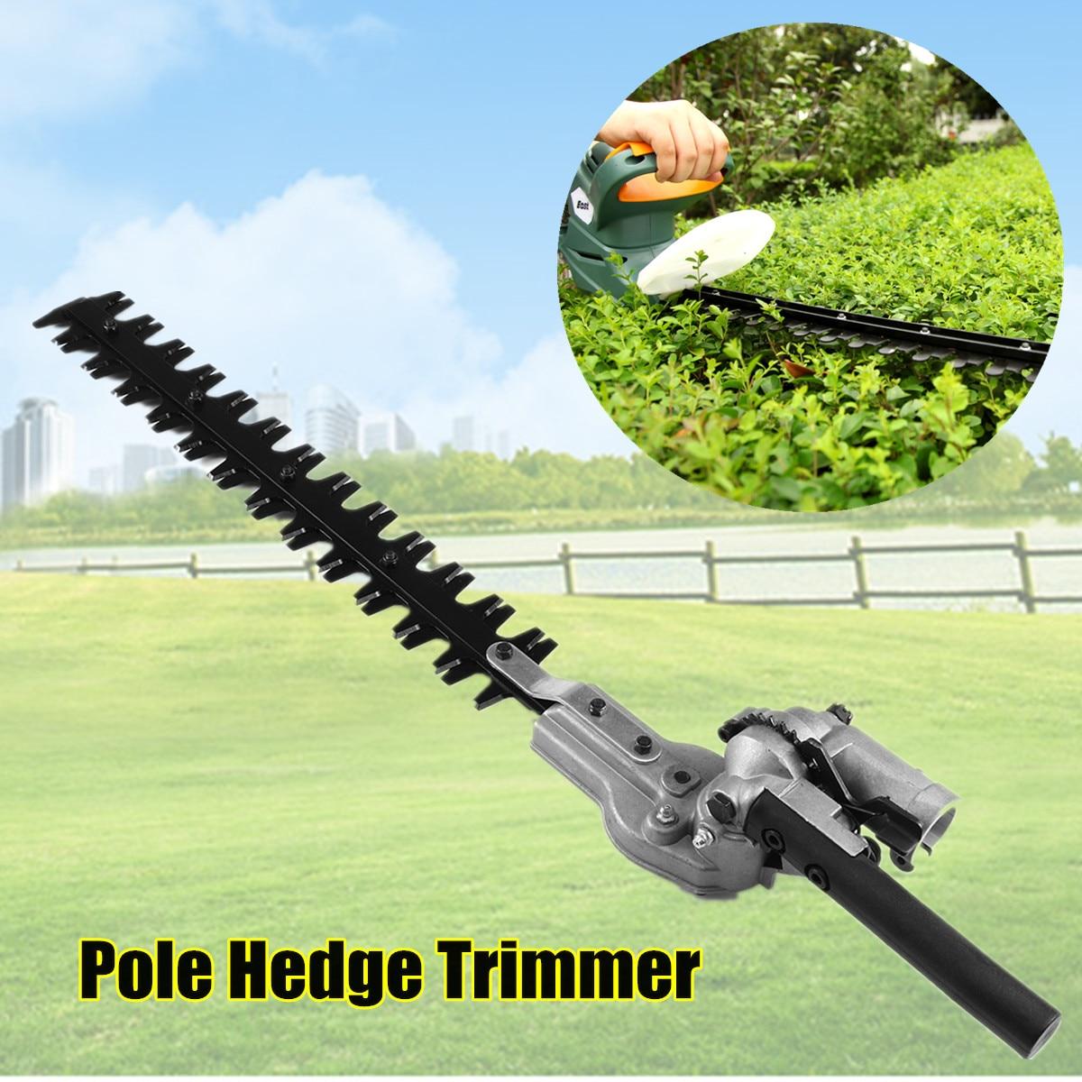 7/9 dentes pólo hedge trimmer bush cabeça cortador de grama aparadores para jardim multi ferramenta pólo motosserra ferramentas de energia do jardim
