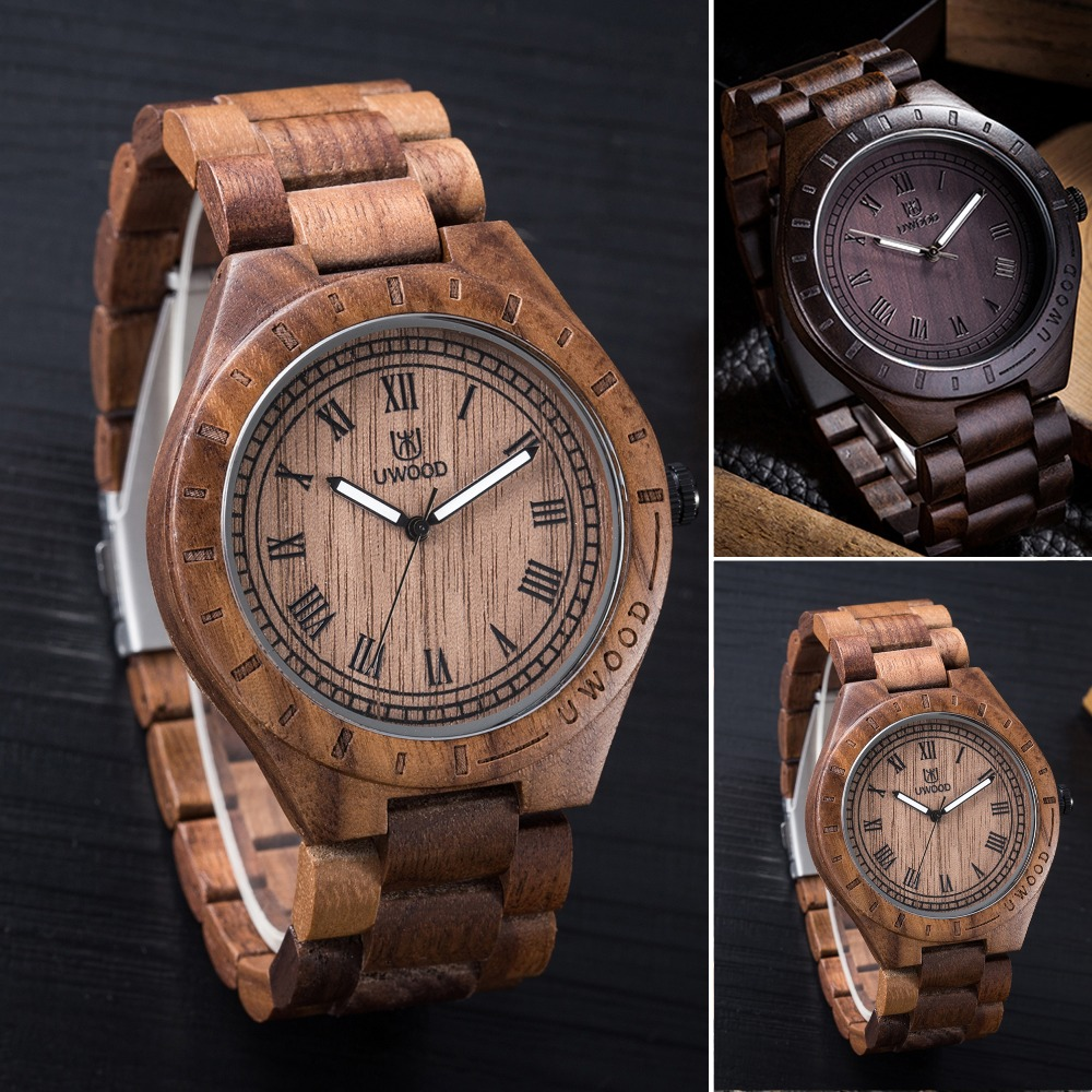 Men's Fashion Wooden Wristwatches Natural Quartz Wooden Watch Men Clock The Original Ecological Wood Strap Brand Luxury Watches rudi hilmanto local ecological knowledge