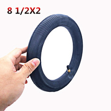 Xiaomi Mijia M365 Scooter Solid Tire Skateboard Tyre Wheels 8 1/2X2 for Xiaomi Scooter Avoid Pneumatic Damping Tyre Scooter Part motorcycle tricycle self rescue trailer electrombile car booster puncture emergency car for xiaomi mijia m365 scooter skateboard