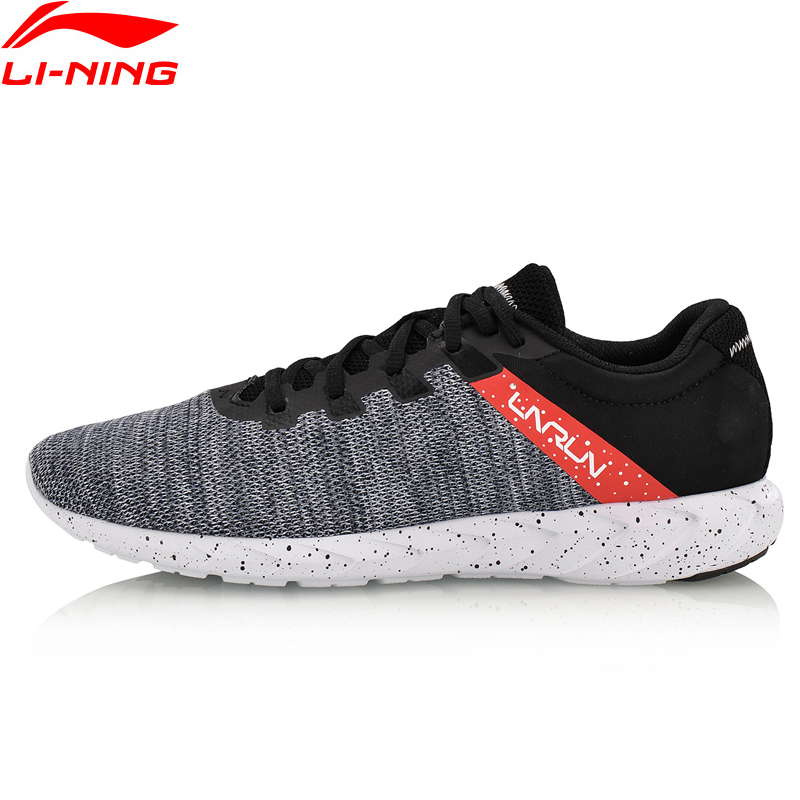 Li-Ning Men's Future Runner Sport Light Running Shoes Breathable Textile Sneakers Comfort Fitness Sport Shoes ARBN003 XYP628