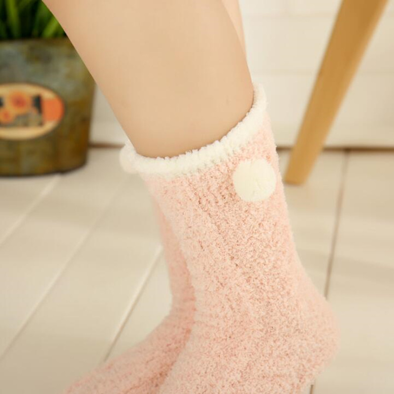 Fuzzy Winter Socks 1