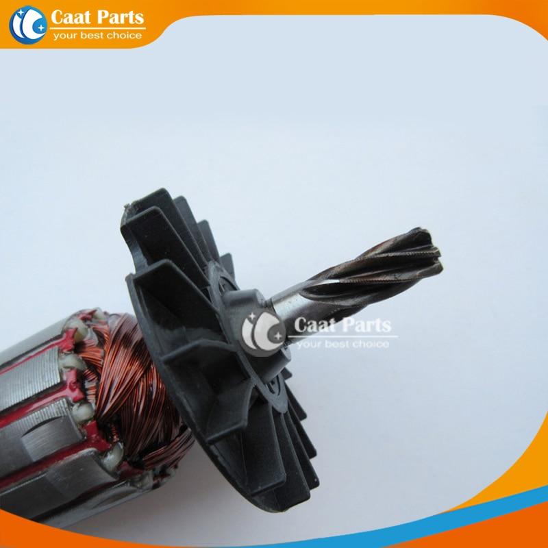 AC220V-240V Rotor de armadura de martillo eléctrico de eje de 6 - Accesorios para herramientas eléctricas - foto 2