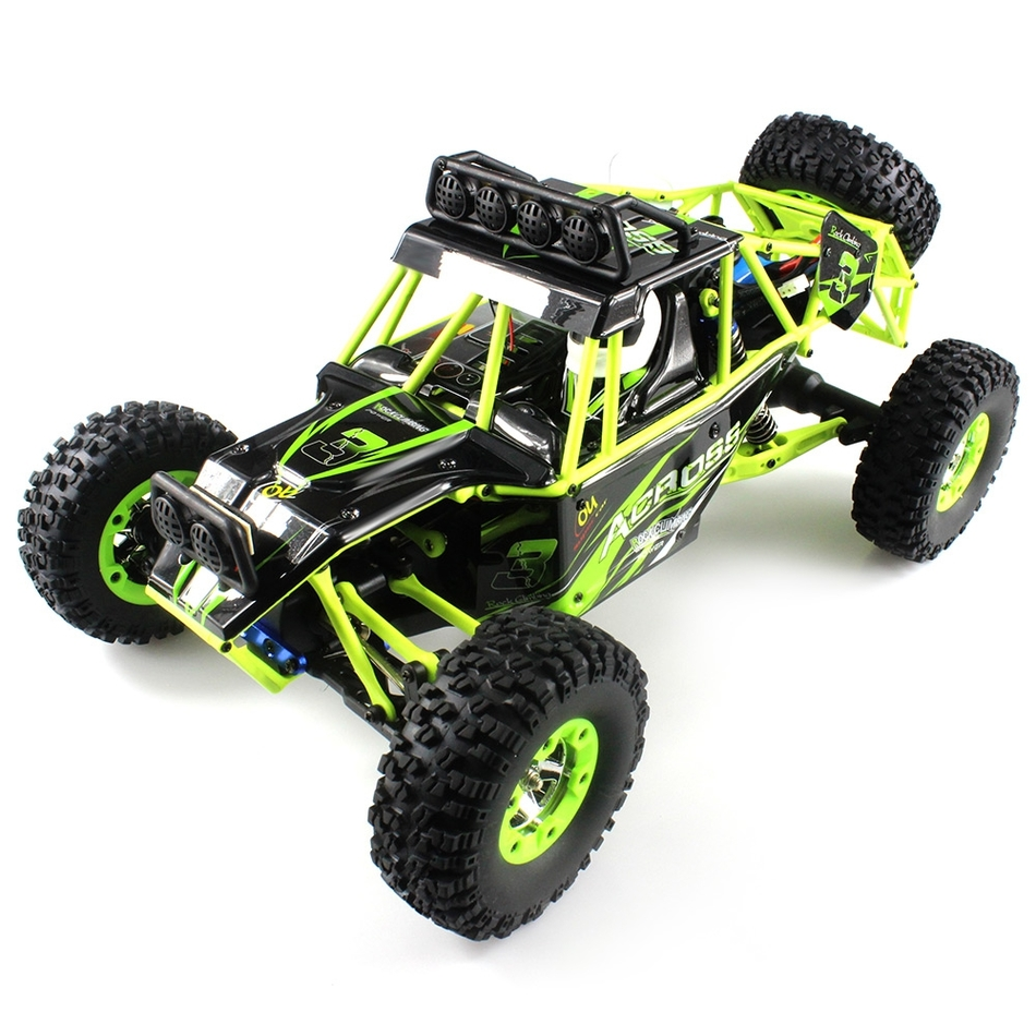 FS WLtoys 12428 Off-road High Speed 4WD Climbing RC Car