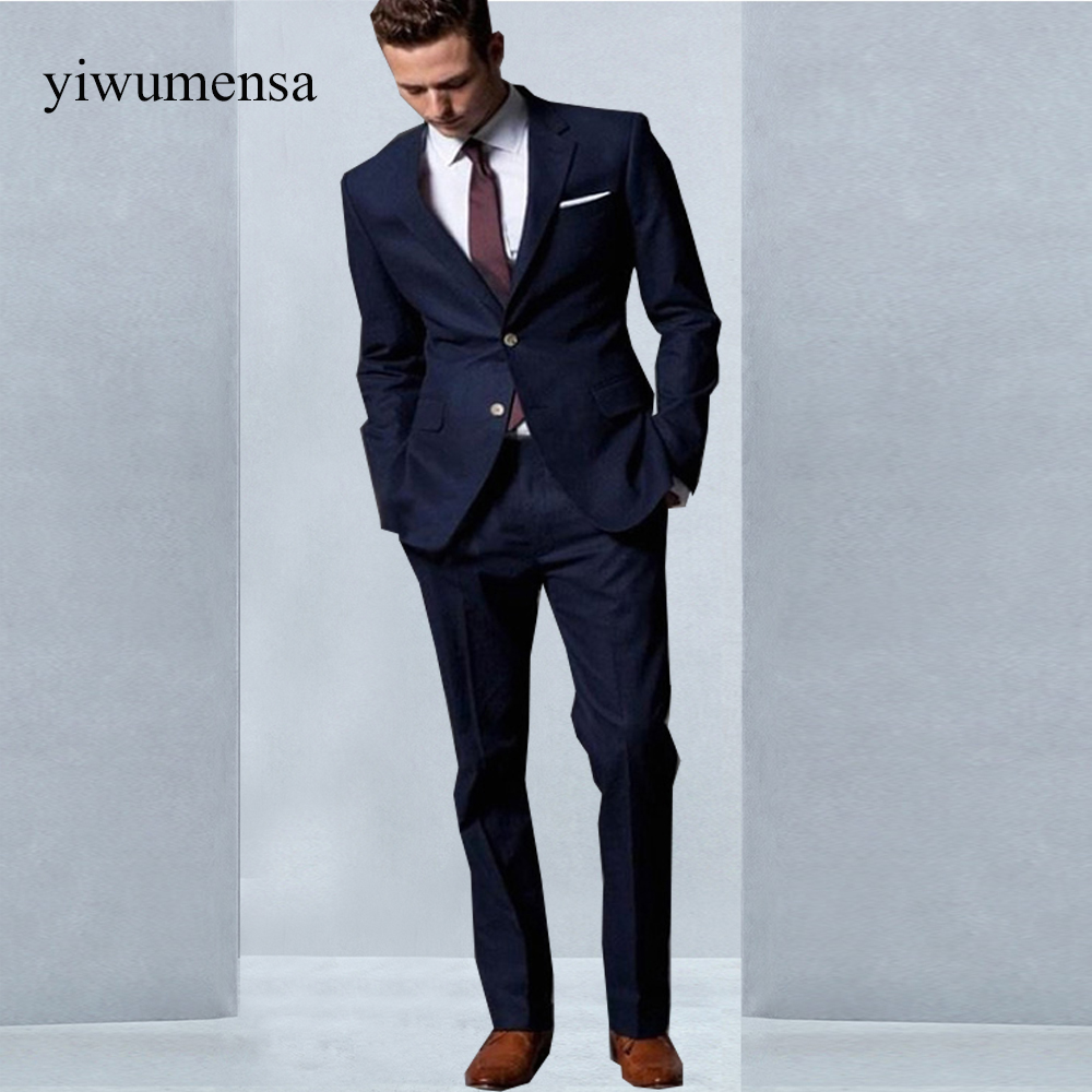 Buy dark blue suit and get free shipping on AliExpress.com