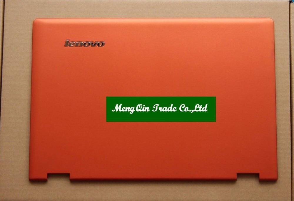 New/Orig Lenovo Ideapad Yoga 2 Pro 13 13 Lcd back rear cover AM0S9000300 Orange  Laptop Replace Cover ультрабук трансформер lenovo ideapad yoga 900s 12isk2 80ml005drk 80ml005drk