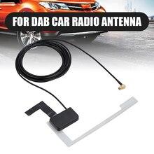 Mayitr 1pc Universal DAB Digital Car Radio Antenna High Quality SMB Window Glass Mount Patch Aerial for Pioneer Kenwood JVC Sony