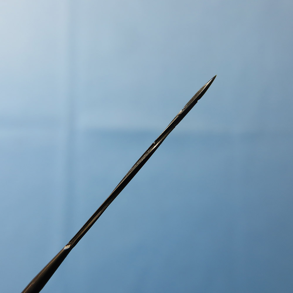 Spiral star needles 500 pcs lot twisted star needles German quality 38G