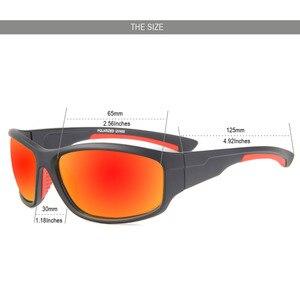 الرجال النظارات الشمسية المستقطبة الصيد تسلق التخييم التنزه نظارات Uv400 حماية الدراجة الدراجات نظارات الرياضة الصيد نظارات