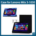 "Miix3 1030 чехол стойка полиуретан кожа чехол для Lenovo miix3-1030 10.1 "" планшет чехол + подарки"