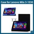 """Miix3 1030 caso Pu de couro para Lenovo miix3-1030 10.1 """" Tablet + presentes"""