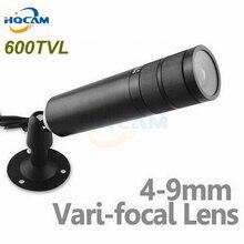 Mini Bullet Camera 1/3″ Sony CCD 600TVL Bullet CCTV Security Camera with 4-9mm Varifocal Lens ZOOM Camera