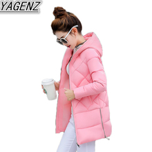 Winter Jackets women's High-grade Down Jacket Coat 2018 High quality Cotton-padded Coats Women Thicken Warm Hooded Cotton Jacket