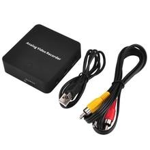 REDAMIGO VHS цифровой преобразователь видео рекордер устройство для видеомагнитофона DVD DVR видеокамера AV лента для SD медиа аналоговый файл дигитайзер EZ272