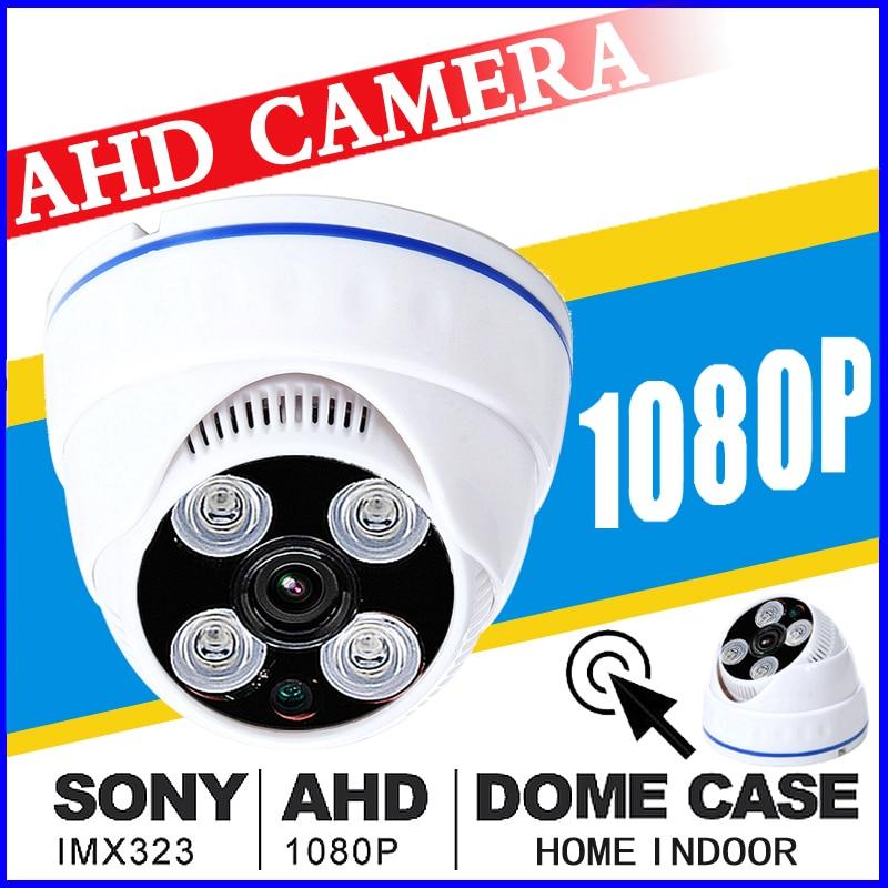 AHD CCTV CAMERA 720P 960P 1080P 1MP 2MP Sony IMX323 Sensor Ultra low Illumination Night vision 2.8MM Wide Angle Lens indoor