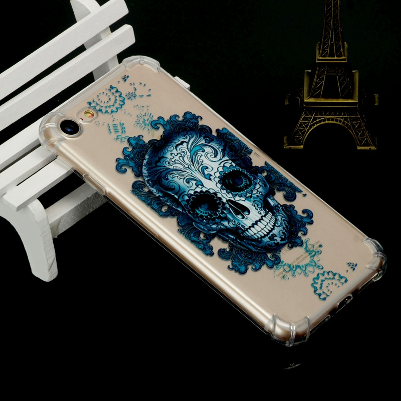 Soft TPU Anti-knock case sFor Fundas iPhone 7 case For Coque iPhone 7 Silicone cover phone cases