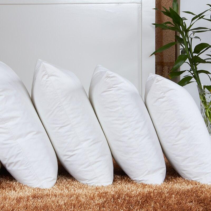 Cojines y Almohadas de Tiro familia Cuadrado, Color: Blanco, azul