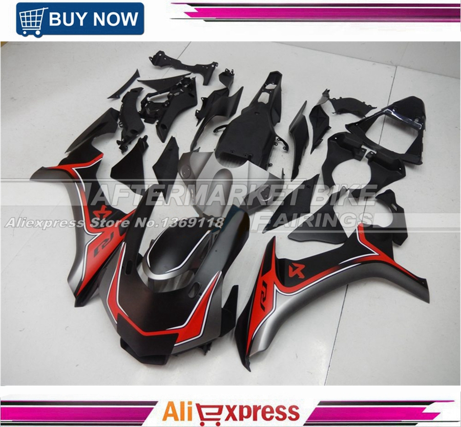 All Matte Grey Red Decals 2015 2016 YZF R1 Motorbik Fairing Cover For Yamaha 15 16 R1 ABS Fairings Bodyworks hot sales for yamaha r1 fairings yzfr1 2007 2008 yzf r1 yzf r1 yzf1000 r1 07 08 red black abs fairings injection molding