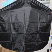 Hair Cutting Hairdressing Cloth Hairdresser Large Salon Adult Waterproof Cape Gown Wrap Black Hairdresser Cape Gown Wrap
