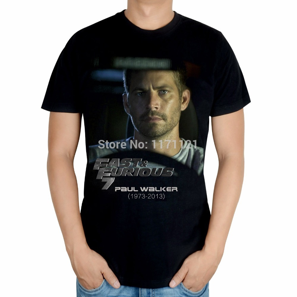 R.I.P PAUL WALKER MENS T-SHIRT Furious 7