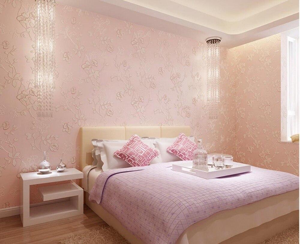 ФОТО European-style garden rattan flower 3D non-woven wallpaper TV backdrop roll wallpapers